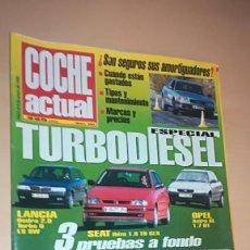 Coches: REVISTA COCHE ACTUAL 350 - ENERO 1995 - ESPECIAL TURBO DIESEL, FORD GT 90, CELICA 1.8 16V ST. Lote 153578106