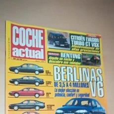 Coches: REVISTA COCHE ACTUAL 352 - ENERO 1995 - BERLINAS V6. Lote 153578298