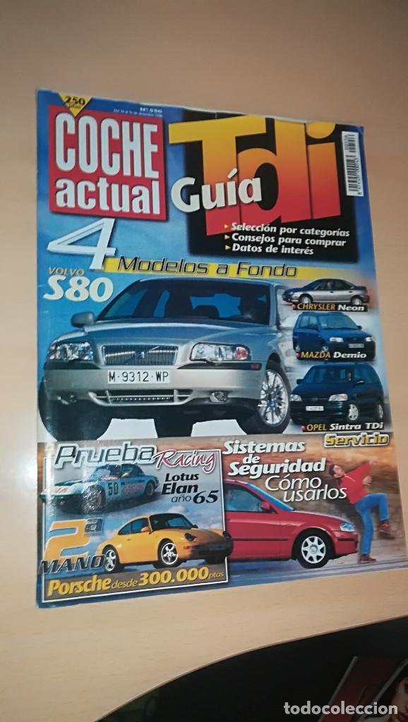 REVISTA COCHE ACTUAL 556 - DICIEMBRE 1998 - TIENE LA PORTADA SUELTA (Coches y Motocicletas Antiguas y Clásicas - Revistas de Coches)