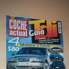 Coches: REVISTA COCHE ACTUAL 556 - DICIEMBRE 1998 - TIENE LA PORTADA SUELTA. Lote 153578838