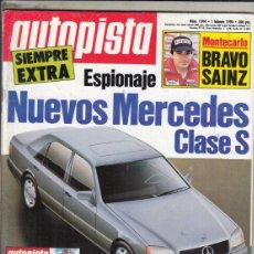 Coches: REVISTA AUTOPISTA Nº 1594 AÑO 1990. ESPECIAL TRACCION INTEGRAL.. Lote 153836674