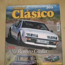 Coches: MOTOR CLASICO. Lote 154922902