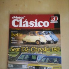 Coches: MOTOR CLASICO. Lote 154924630