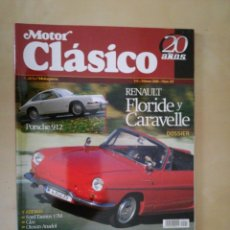 Coches: MOTOR CLASICO. Lote 154924818