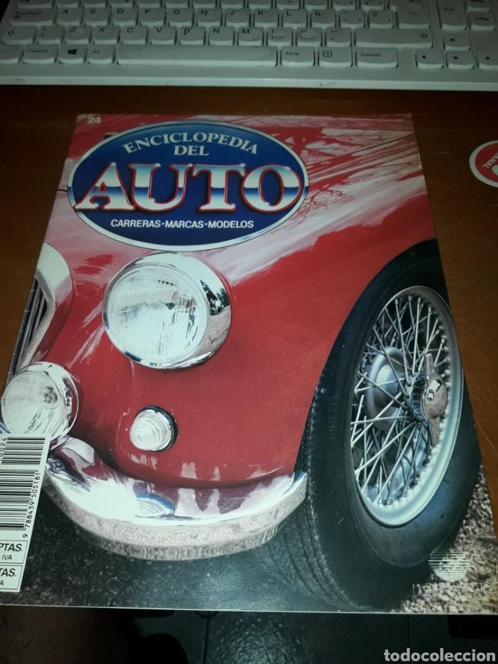 ENCICLOPEDIA DEL AUTO 24. BMR 1962 / TALBOT LAGO. EDICIÓN DE 1987 (Coches y Motocicletas Antiguas y Clásicas - Revistas de Coches)
