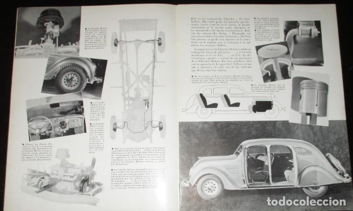 Coches: REVISTA ORIGINAL DODGE OVERSEAS GRAPHIC - EDICIÓN ESPAÑOLA DE FEBRERO DE 1935. - Foto 3 - 155310194