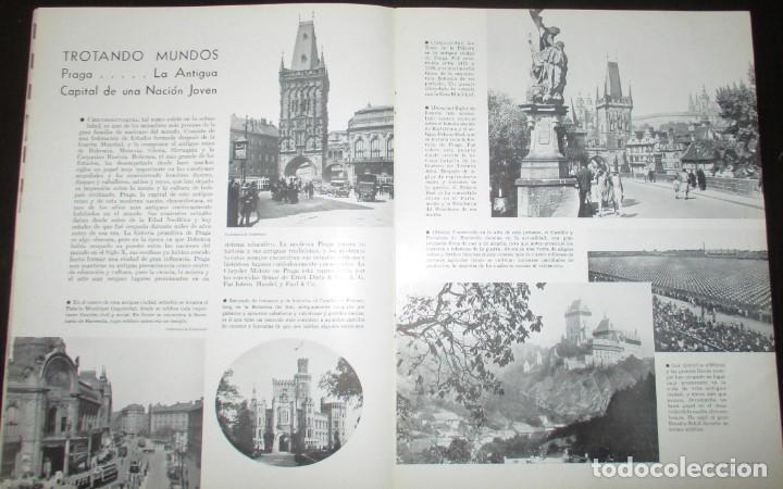 Coches: REVISTA ORIGINAL DODGE OVERSEAS GRAPHIC - EDICIÓN ESPAÑOLA DE FEBRERO DE 1935. - Foto 5 - 155310194