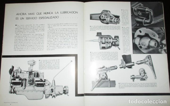 Coches: REVISTA ORIGINAL DODGE OVERSEAS GRAPHIC - EDICIÓN ESPAÑOLA DE FEBRERO DE 1935. - Foto 9 - 155310194