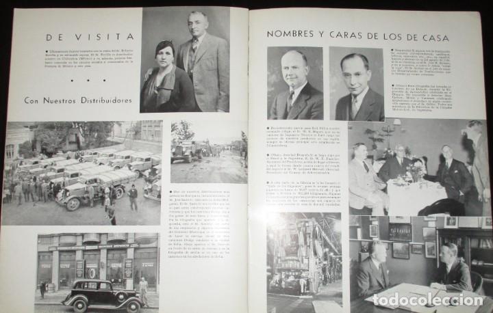 Coches: REVISTA ORIGINAL DODGE OVERSEAS GRAPHIC - EDICIÓN ESPAÑOLA DE FEBRERO DE 1935. - Foto 10 - 155310194