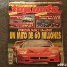 Coches: REVISTA TOP AUTO. Nº 71 SEPTIEMBRE 1995. Lote 155979314