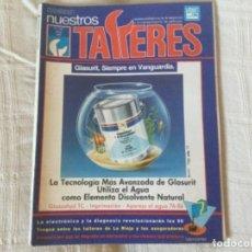 Coches: REVISTA NUESTROS TALLERES. Nº 122 JUNIO 1990. Lote 156537718