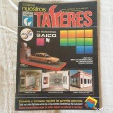Coches: REVISTA NUESTROS TALLERES. Nº 97 JULIO/AGOSTO 1988. Lote 156540594