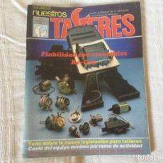 Coches: REVISTA NUESTROS TALLERES. Nº 72 SEPTIEMBRE 1986. Lote 156540770