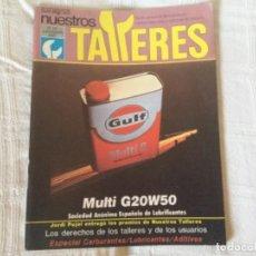 Coches: REVISTA NUESTROS TALLERES. Nº 59 JULIO/AGOSTO 1985. Lote 156540930