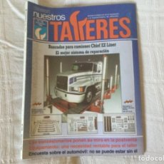 Coches: REVISTA NUESTROS TALLERES. Nº 126 NOVIEMBRE 1990. Lote 156541214