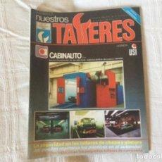 Coches: REVISTA NUESTROS TALLERES. Nº 75 DICIEMBRE 1986 ESPECIAL CARROCERIA. Lote 156542282