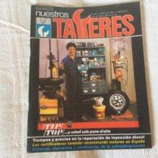 Coches: REVISTA NUESTROS TALLERES. Nº 76 ENERO 1987. Lote 156542842