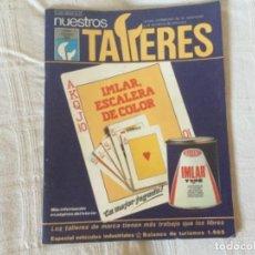 Coches: REVISTA NUESTROS TALLERES. Nº 65 FEBRERO 1986. Lote 156543026