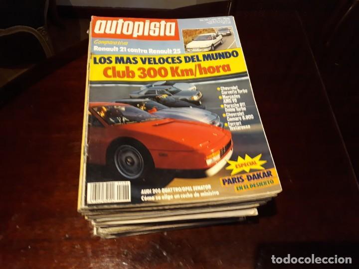 LOTE DE 52 REVISTAS AUTOPISTA AÑO 1988 AÑO COMPLETO FOTOS DE TODAS LAS PORTADAS . ENVIO 6 EUROS (Coches y Motocicletas Antiguas y Clásicas - Revistas de Coches)