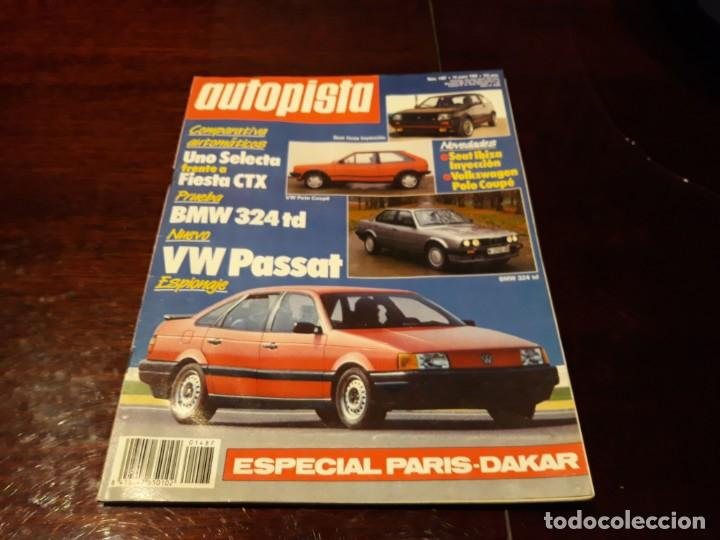 Coches: LOTE DE 52 REVISTAS AUTOPISTA AÑO 1988 AÑO COMPLETO FOTOS DE TODAS LAS PORTADAS . ENVIO 6 EUROS - Foto 3 - 156959274