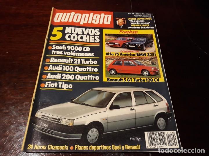 Coches: LOTE DE 52 REVISTAS AUTOPISTA AÑO 1988 AÑO COMPLETO FOTOS DE TODAS LAS PORTADAS . ENVIO 6 EUROS - Foto 6 - 156959274