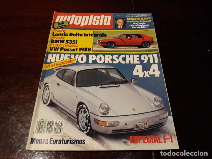 Coches: LOTE DE 52 REVISTAS AUTOPISTA AÑO 1988 AÑO COMPLETO FOTOS DE TODAS LAS PORTADAS . ENVIO 6 EUROS - Foto 14 - 156959274