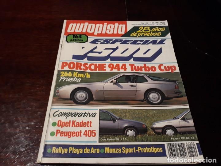Coches: LOTE DE 52 REVISTAS AUTOPISTA AÑO 1988 AÑO COMPLETO FOTOS DE TODAS LAS PORTADAS . ENVIO 6 EUROS - Foto 16 - 156959274