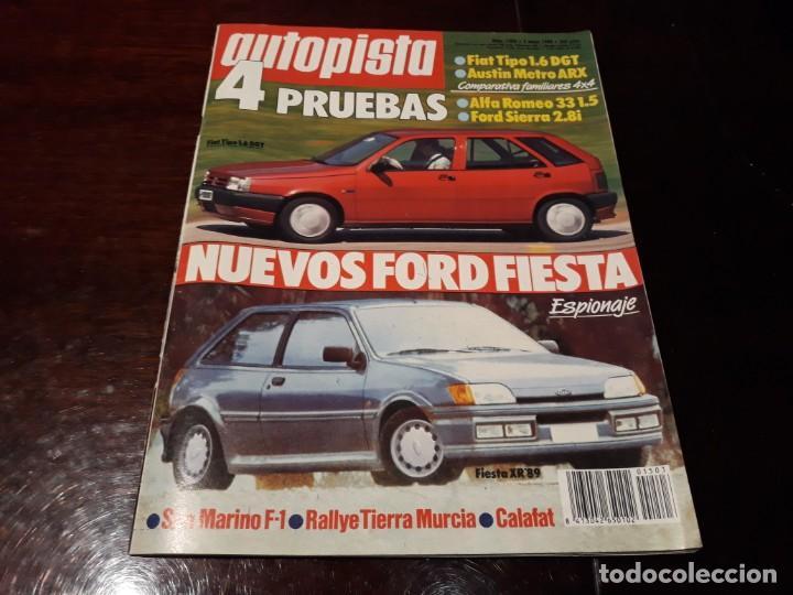 Coches: LOTE DE 52 REVISTAS AUTOPISTA AÑO 1988 AÑO COMPLETO FOTOS DE TODAS LAS PORTADAS . ENVIO 6 EUROS - Foto 19 - 156959274