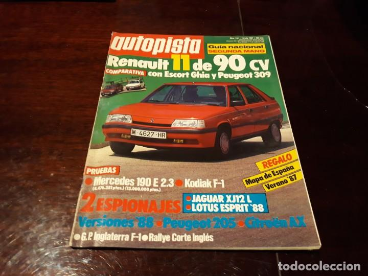 Coches: LOTE DE 52 REVISTAS AUTOPISTA AÑO 1988 AÑO COMPLETO FOTOS DE TODAS LAS PORTADAS . ENVIO 6 EUROS - Foto 20 - 156959274