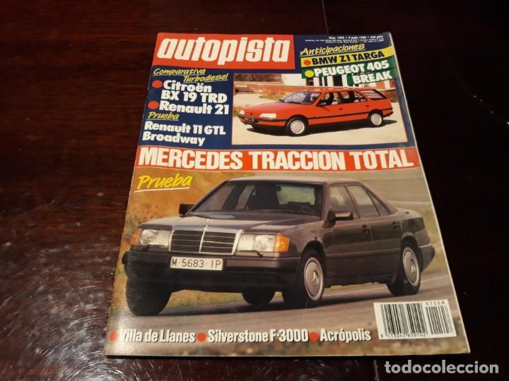 Coches: LOTE DE 52 REVISTAS AUTOPISTA AÑO 1988 AÑO COMPLETO FOTOS DE TODAS LAS PORTADAS . ENVIO 6 EUROS - Foto 25 - 156959274