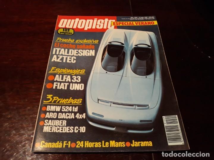 Coches: LOTE DE 52 REVISTAS AUTOPISTA AÑO 1988 AÑO COMPLETO FOTOS DE TODAS LAS PORTADAS . ENVIO 6 EUROS - Foto 26 - 156959274