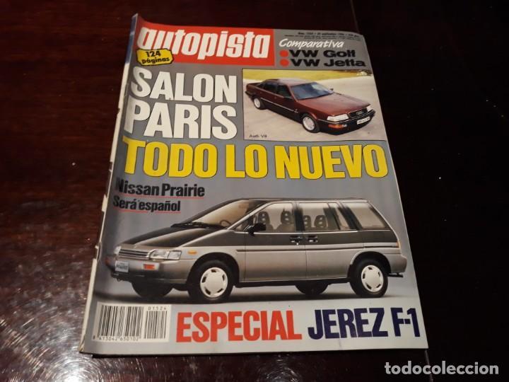Coches: LOTE DE 52 REVISTAS AUTOPISTA AÑO 1988 AÑO COMPLETO FOTOS DE TODAS LAS PORTADAS . ENVIO 6 EUROS - Foto 41 - 156959274