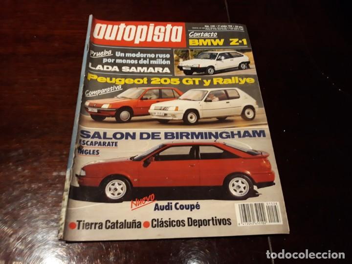 Coches: LOTE DE 52 REVISTAS AUTOPISTA AÑO 1988 AÑO COMPLETO FOTOS DE TODAS LAS PORTADAS . ENVIO 6 EUROS - Foto 45 - 156959274