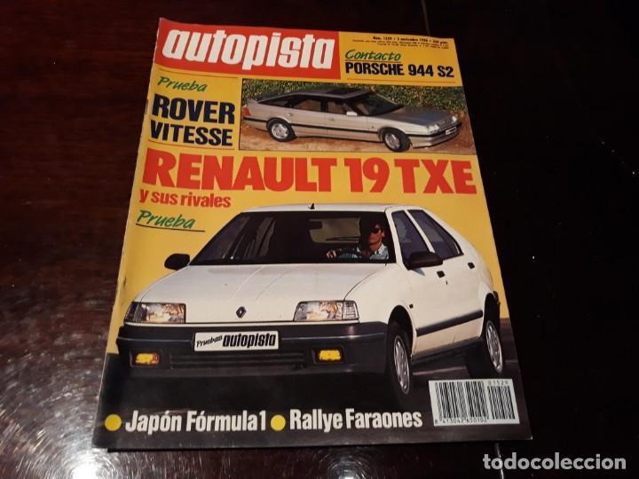 Coches: LOTE DE 52 REVISTAS AUTOPISTA AÑO 1988 AÑO COMPLETO FOTOS DE TODAS LAS PORTADAS . ENVIO 6 EUROS - Foto 46 - 156959274