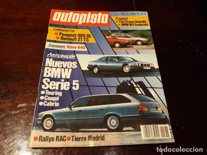 Coches: LOTE DE 52 REVISTAS AUTOPISTA AÑO 1988 AÑO COMPLETO FOTOS DE TODAS LAS PORTADAS . ENVIO 6 EUROS - Foto 50 - 156959274