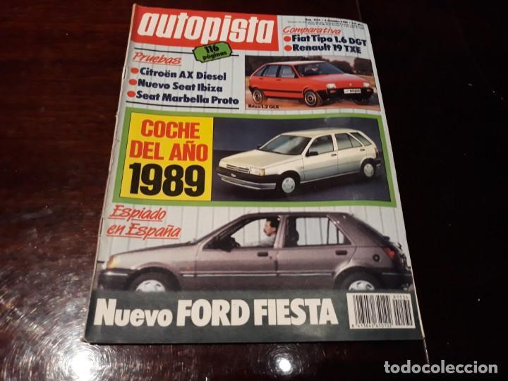Coches: LOTE DE 52 REVISTAS AUTOPISTA AÑO 1988 AÑO COMPLETO FOTOS DE TODAS LAS PORTADAS . ENVIO 6 EUROS - Foto 51 - 156959274