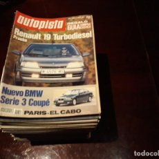 Coches: LOTE DE 53 REVISTAS AUTOPISTA -AÑO 1992 -. AÑO COMPLETO- FOTOS DE TODAS LAS PORTADAS . ENVIO 6 EUROS. Lote 156998062