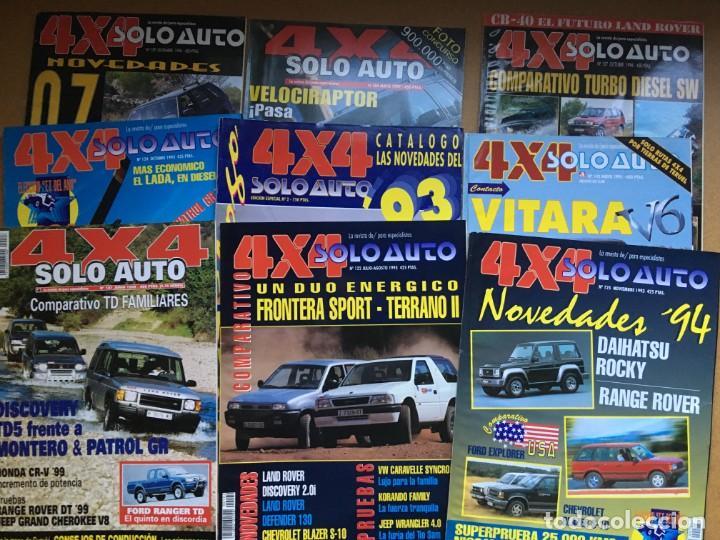 LOTE 9 REVISTAS AÑOS 90 SOLO AUTO 4X4 - BUEN ESTADO - NO SE DESHACE EL LOTE (Coches y Motocicletas Antiguas y Clásicas - Revistas de Coches)