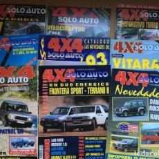 Coches: LOTE 9 REVISTAS AÑOS 90 SOLO AUTO 4X4 - BUEN ESTADO - NO SE DESHACE EL LOTE. Lote 158220538