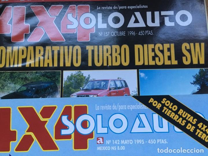 Coches: LOTE 9 REVISTAS AÑOS 90 SOLO AUTO 4X4 - BUEN ESTADO - NO SE DESHACE EL LOTE - Foto 3 - 158220538