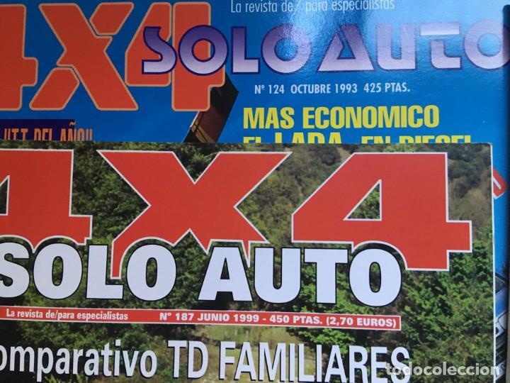 Coches: LOTE 9 REVISTAS AÑOS 90 SOLO AUTO 4X4 - BUEN ESTADO - NO SE DESHACE EL LOTE - Foto 5 - 158220538