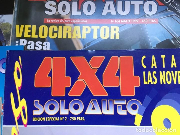 Coches: LOTE 9 REVISTAS AÑOS 90 SOLO AUTO 4X4 - BUEN ESTADO - NO SE DESHACE EL LOTE - Foto 6 - 158220538