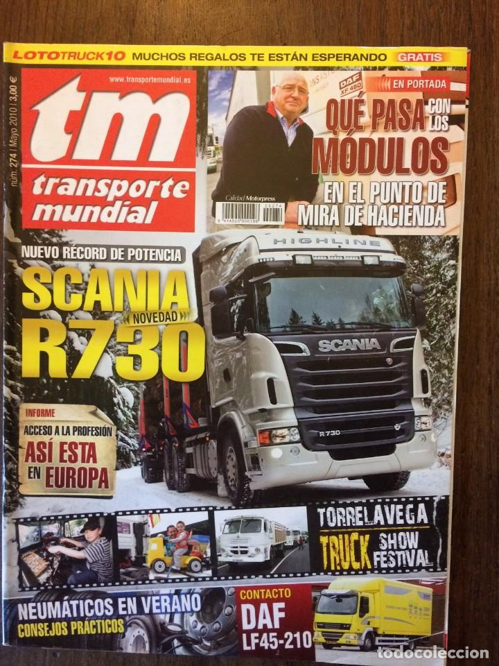 Coches: Revista Transporte Mundial n.274 de 2010 camion scania - Foto 2 - 158289030