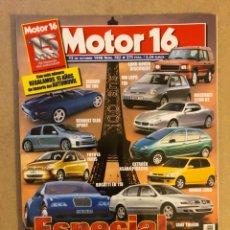Coches: MOTOR 16 N° 782 (1998). JAGUAR XK180, RENAULT CLIO SPORT, MASERATI 3200 GT, BUGATTI EB 118,.... Lote 158760304