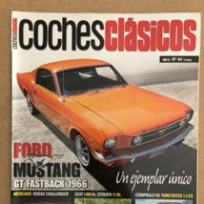 Coches: COCHES CLÁSICOS N° 44 (AÑO IV). FORD MUSTANG GT FASTBACK 1966, DODGE CHALLENGER, SEAT 1400 VS CITROË. Lote 158817884