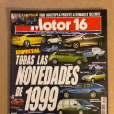 Coches: MOTOR 16 N° 794 (1999). HONDA S 2000, MASERATI 3200 GT, MERCEDES CLK LM, VW LUPO GTI,.... Lote 158990313