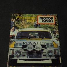 Coches: REVISTA MOTOR JOVEN Nº 47 DICIEMBRE DE 1983 (CON POSTER). Lote 159122634