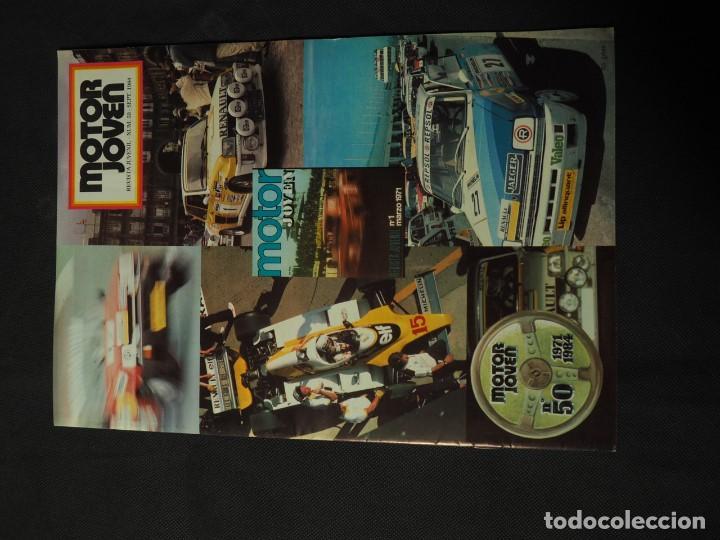 REVISTA MOTOR JOVEN Nº 50 SEPTIEMBRE DE 1984 (CON POSTER) (Coches y Motocicletas Antiguas y Clásicas - Revistas de Coches)