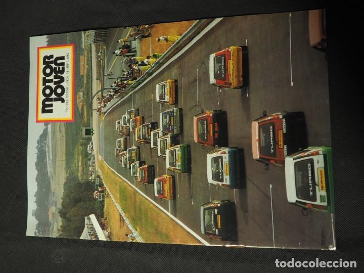 REVISTA MOTOR JOVEN Nº 54 SEPTIEMBRE DE 1985 (CON POSTER) (Coches y Motocicletas Antiguas y Clásicas - Revistas de Coches)
