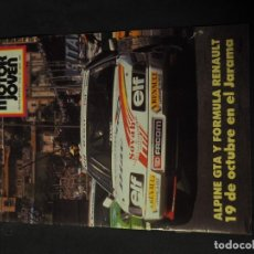 Coches: REVISTA MOTOR JOVEN Nº 58 SEPTIEMBRE DE 1986 (CON POSTER). Lote 159125106